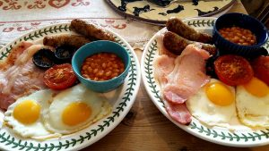 The best full English you'll get at a bed and breakfast