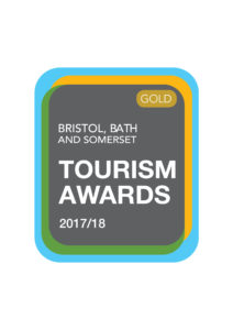 A 2017/2018 award for our bed and breakfast in Somerset